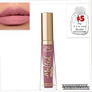 New TOO FACED Melted Matte Liquified Lipstick